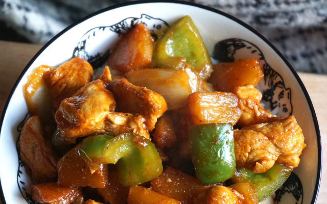 Basic Easy Sweet and Sour Chicken {gluten free}