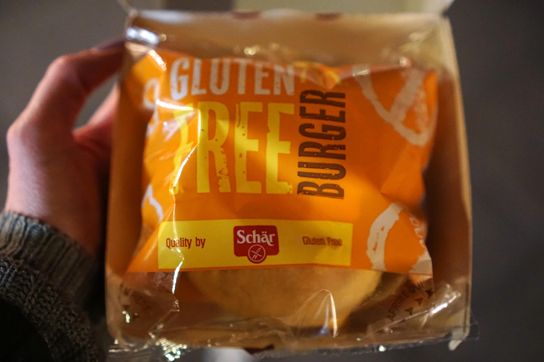 McDonald's gluten free cheese burger - gluten free Venice guide