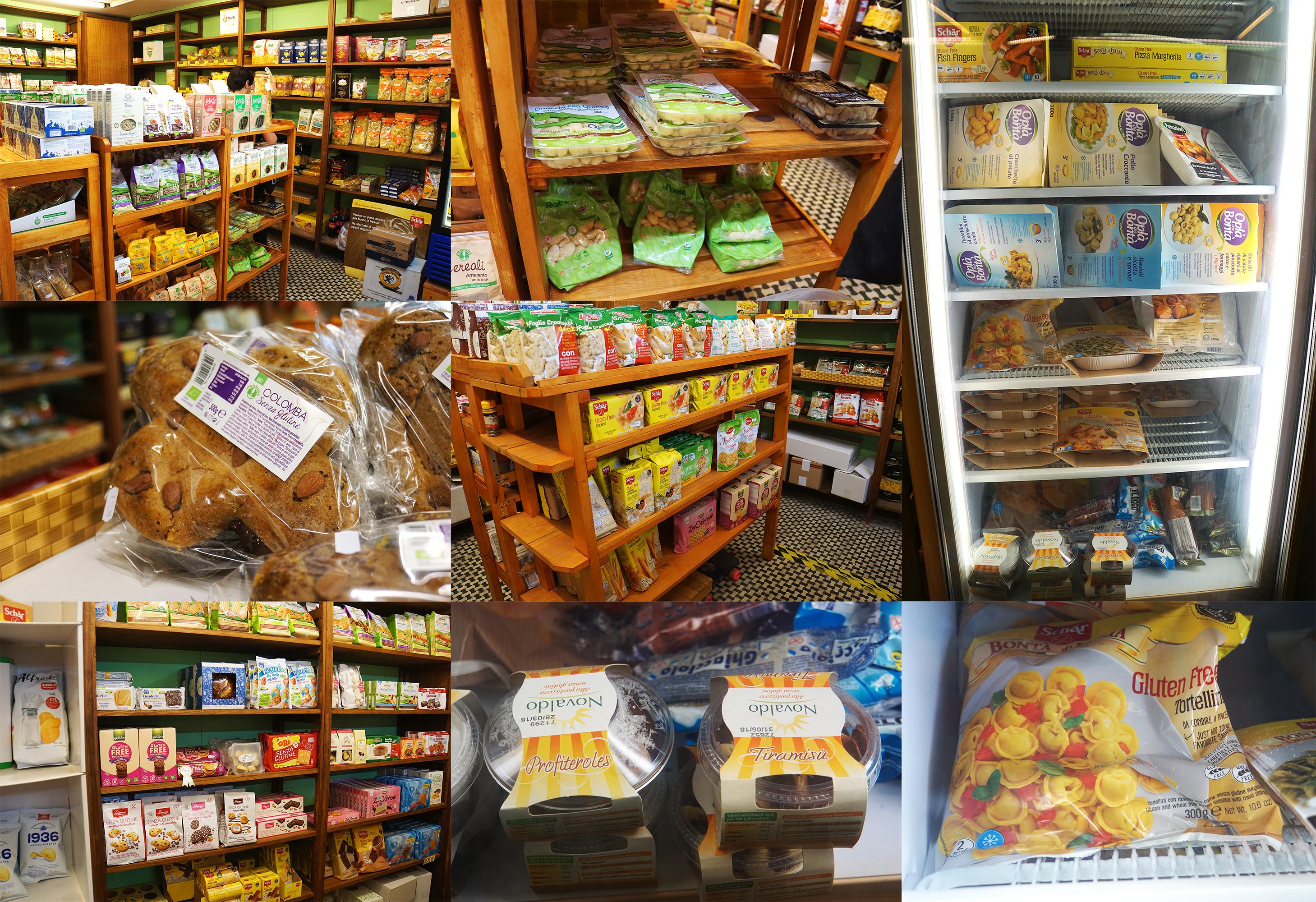 Mea Libera Tutti gluten free food - gluten free Venice guide