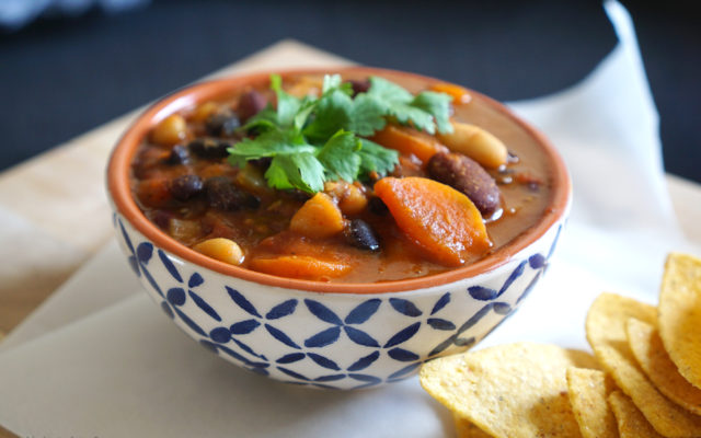 Healthy Meat Free Bean Chilli